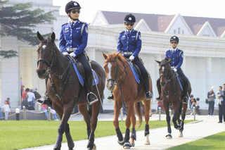大連 女性騎馬警察隊�E.jpg